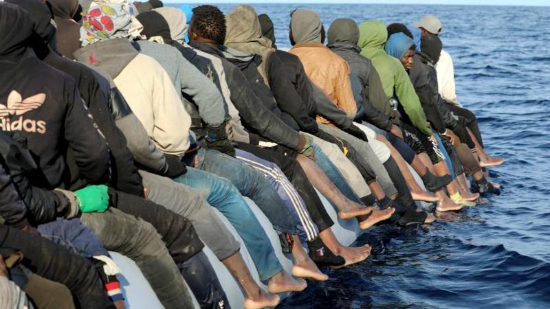 Refugiados - Líbia (arquivo)