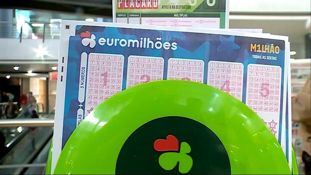 Euromilhões: hoje está em jogo um jackpot de 108 milhões