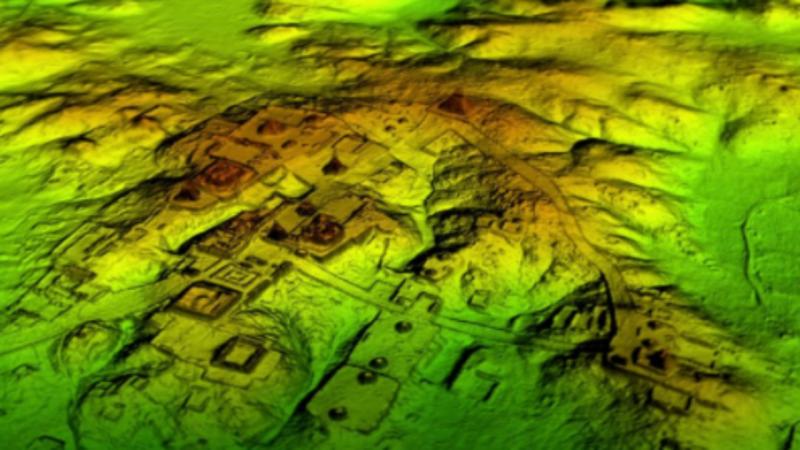 Vestígios da civilização maia na Guatemala