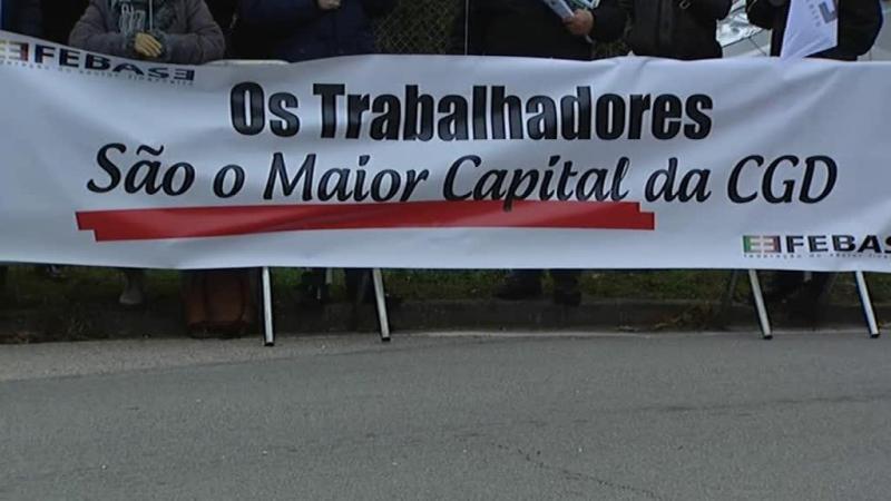 CGD: trabalhadores protestam contra reestruturação da empresa