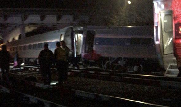 Choque de comboios nos EUA
