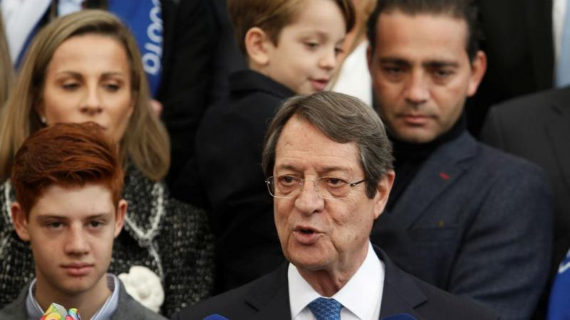 Presidente do Chipre, Nicos Anastasiades
