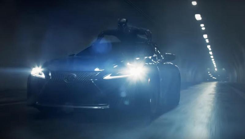 Lexus é estrela no filme 'Black Panther'