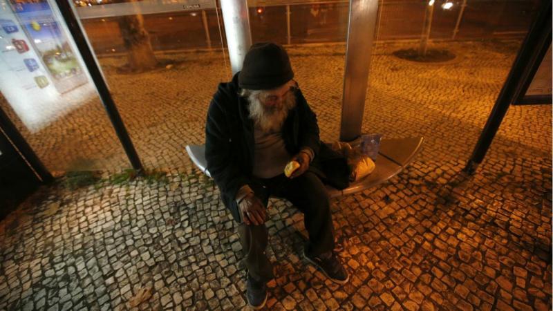 Sem abrigo - Lisboa