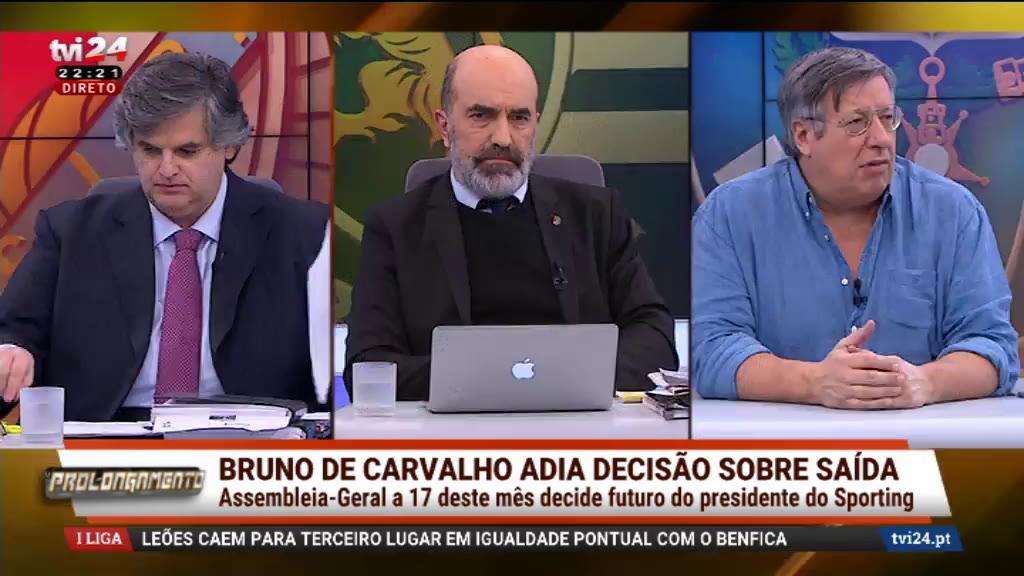 Prolongamento - O futuro de Bruno de Carvalho