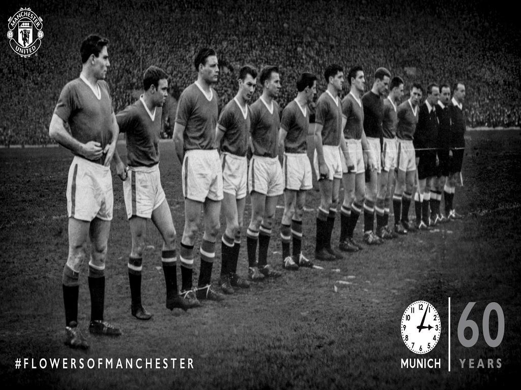 Manchester United recorda Munique.