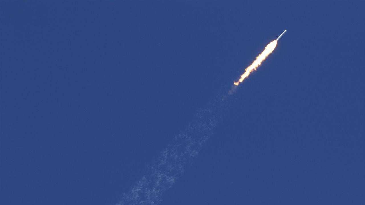 Lançamento do foguetão Falcon Heavy
