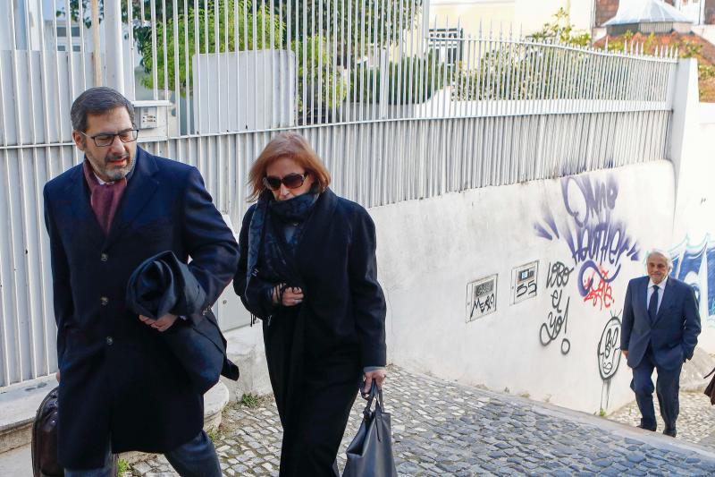 Advogado Paulo Sá e Cunha e a juíza desembargadora Fátima Galante