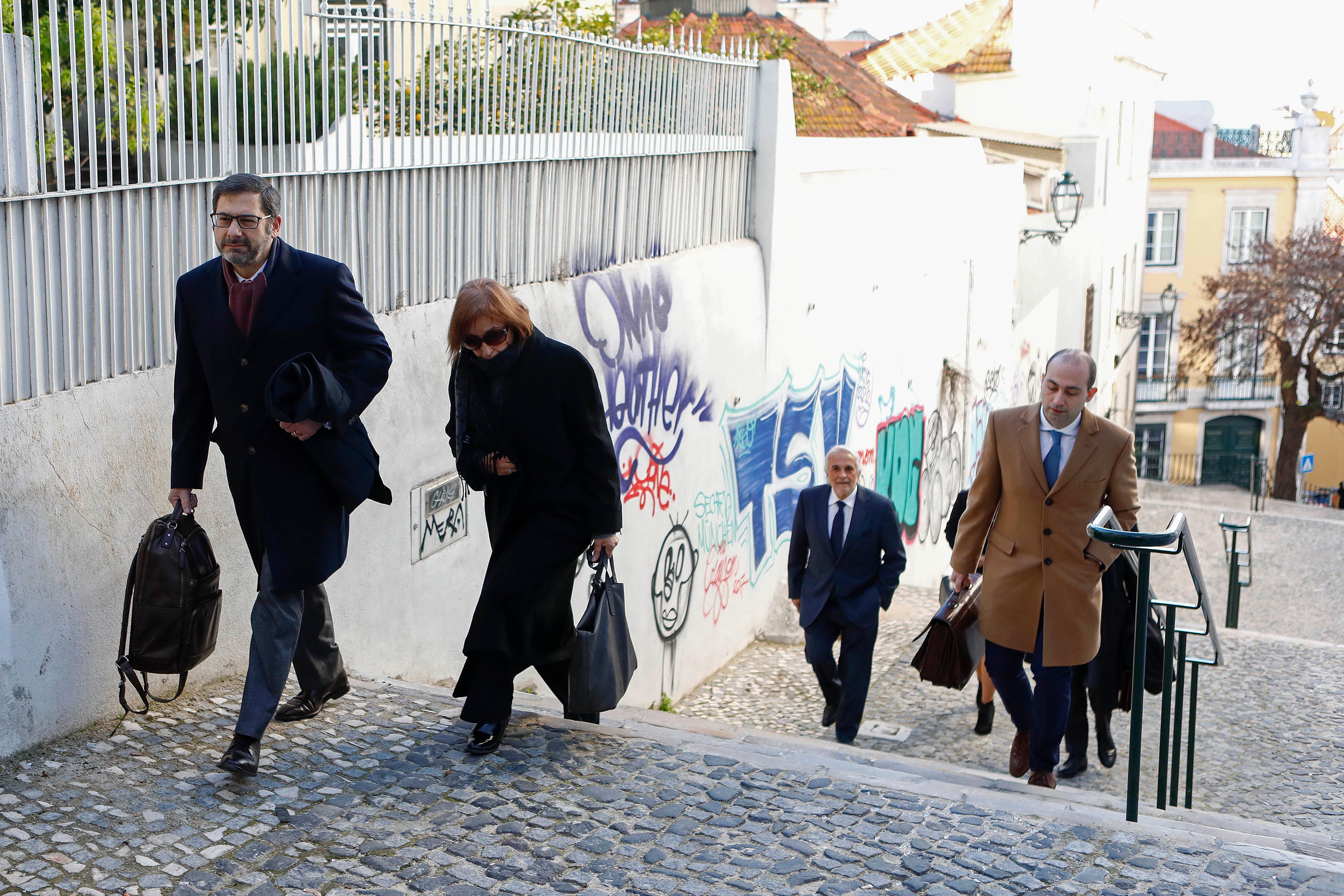 Advogado Paulo Sá e Cunha, juíza desembargadora Fátima Galante, advogado João Nabais e desembargador Rui Rangel