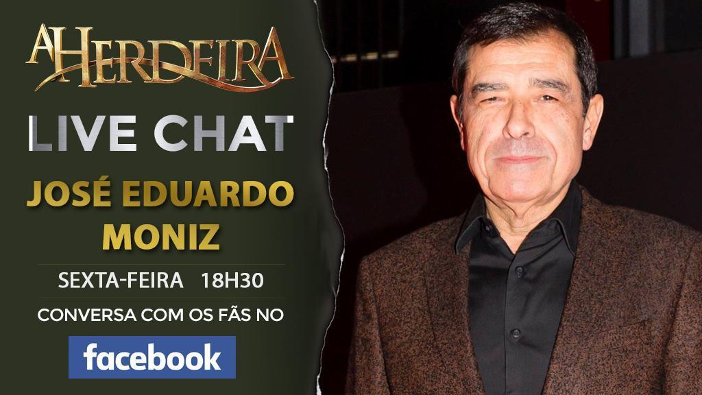 Live Chat com José Eduardo Moniz