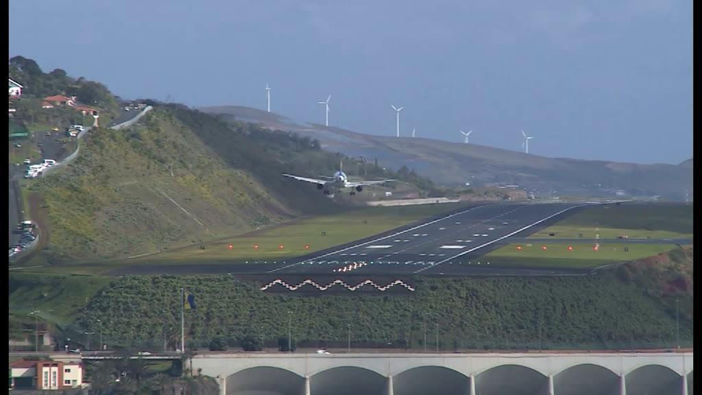 Aviões já conseguem aterrar no Funchal