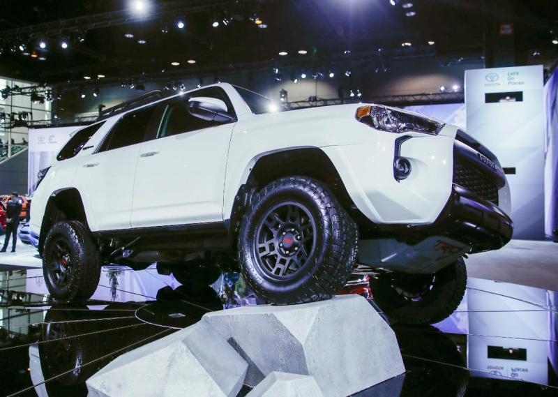 Toyota 4Runner TRD Pro - Salão de Chicago (Lusa)