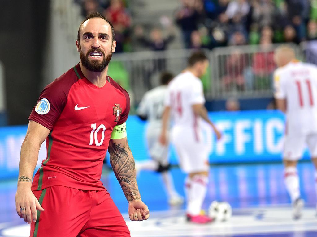 Futsal: Portugal-Espanha (Lusa)