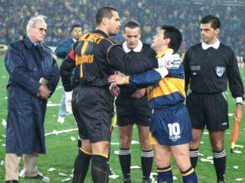 Chilavert vs Maradona
