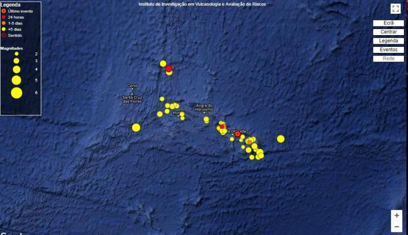 Sismos nos Açores