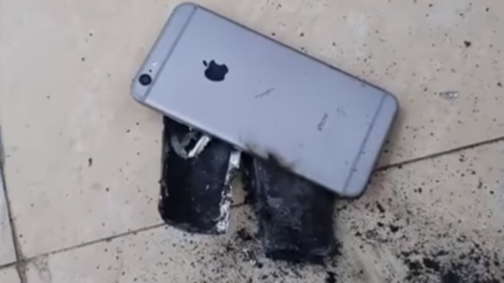 iPhone 6s explodiu