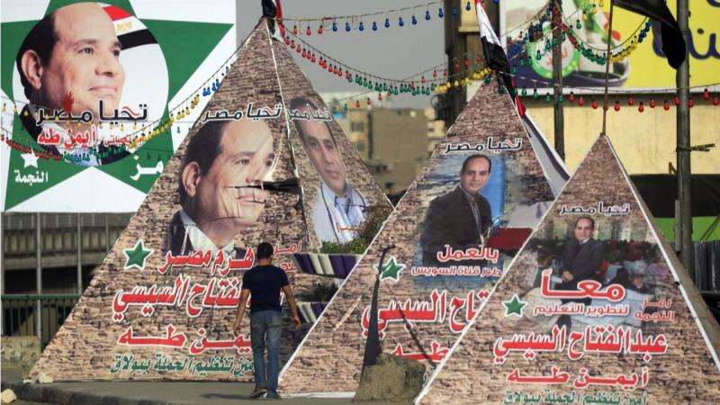 Egito - campanha do presidente al Sisi (2014)