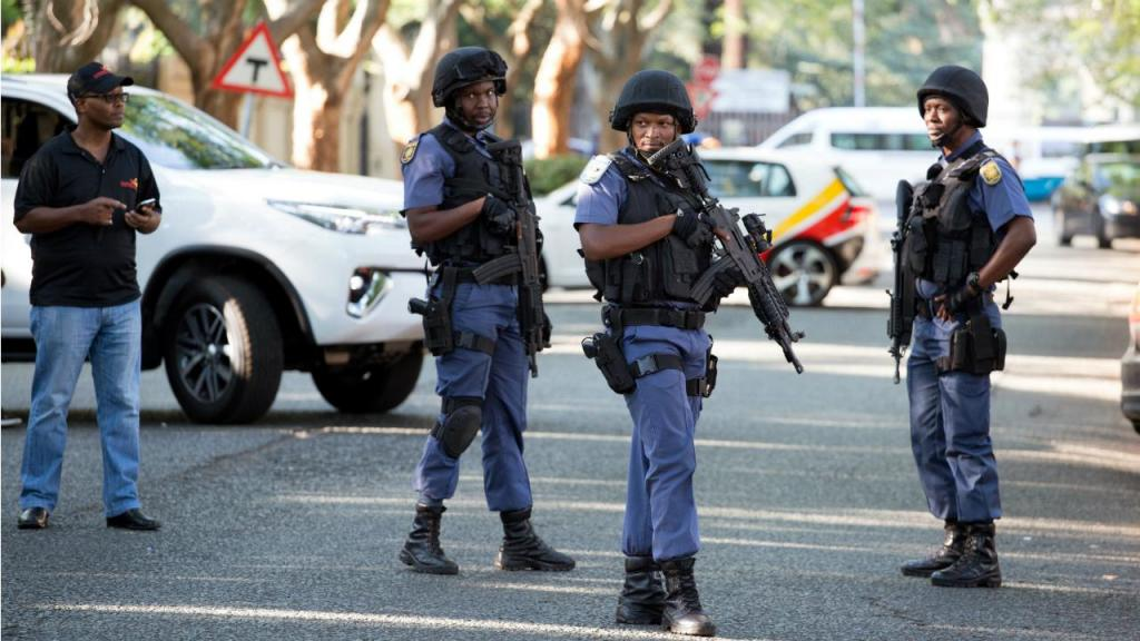 Polícia sul-africana - Joanesburgo