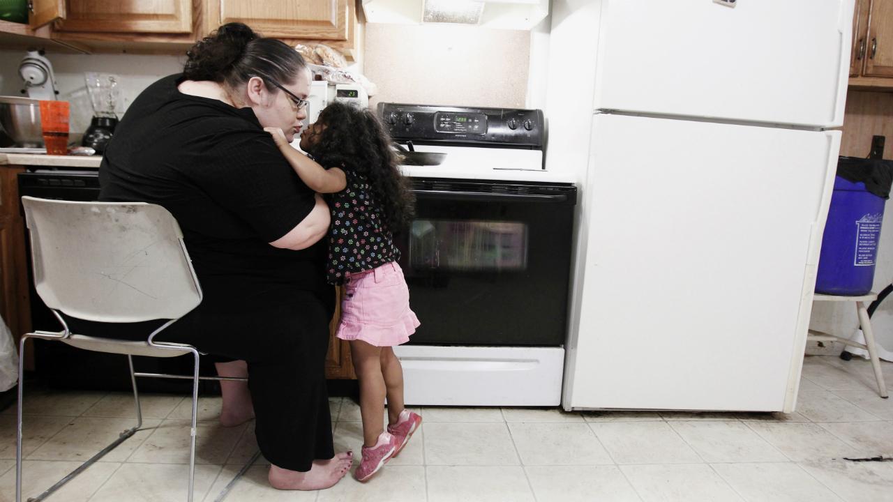 Mulher na cozinha (arquivo)