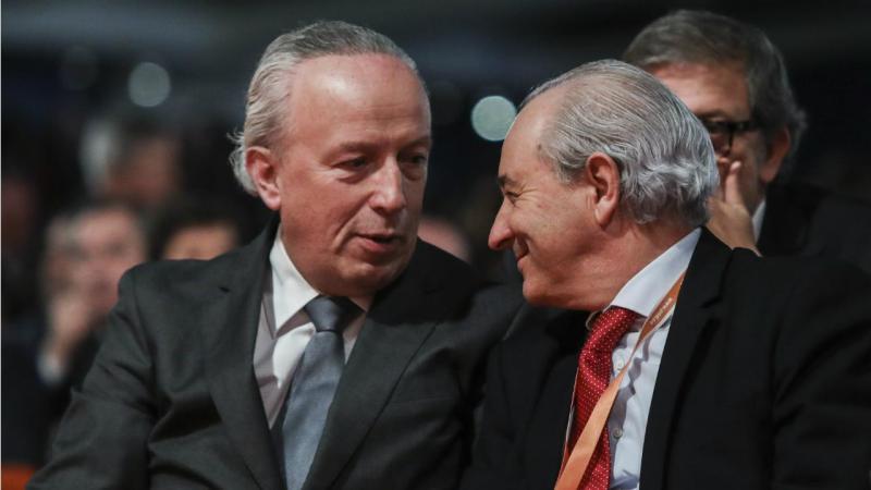 Pedro Santana Lopes e Rui Rio