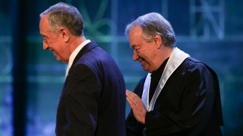 Guterres recebe honoris causa