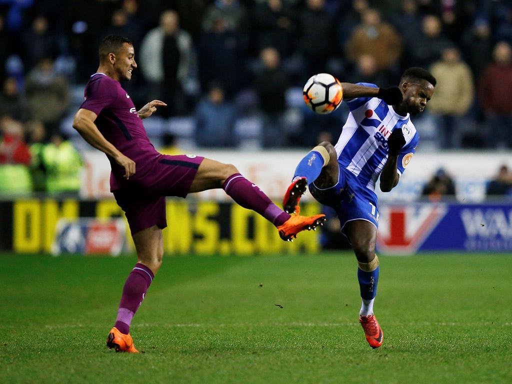 Wigan-Manchester City (Reuters)