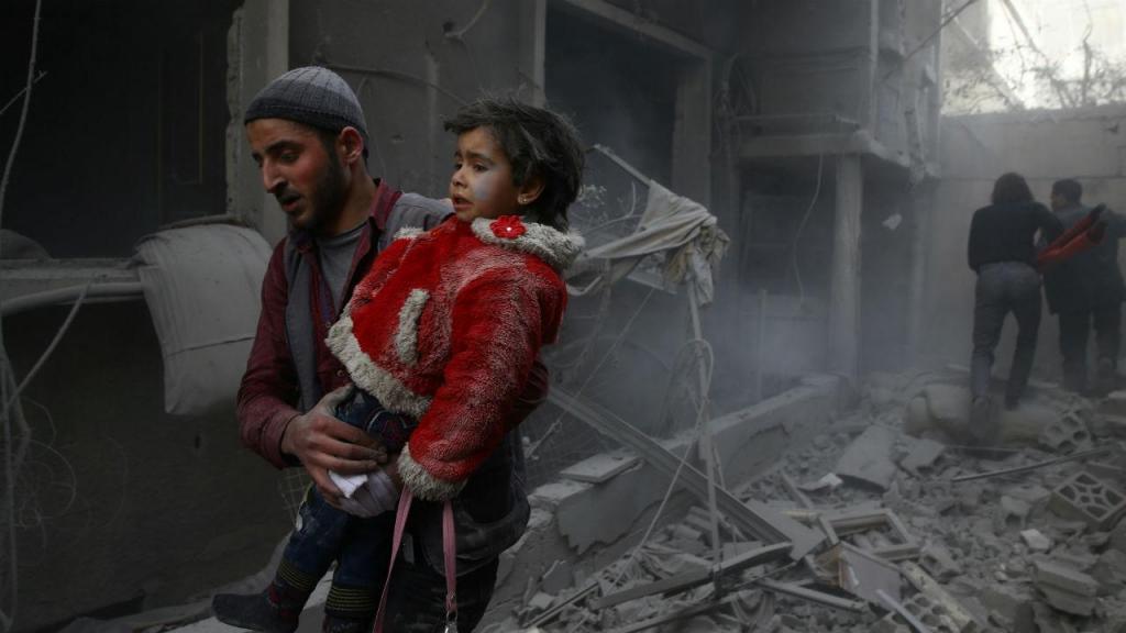 Bombardeamos na Síria