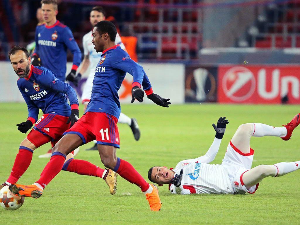 CSKA Moscovo-Estrela Vermelha (Lusa)
