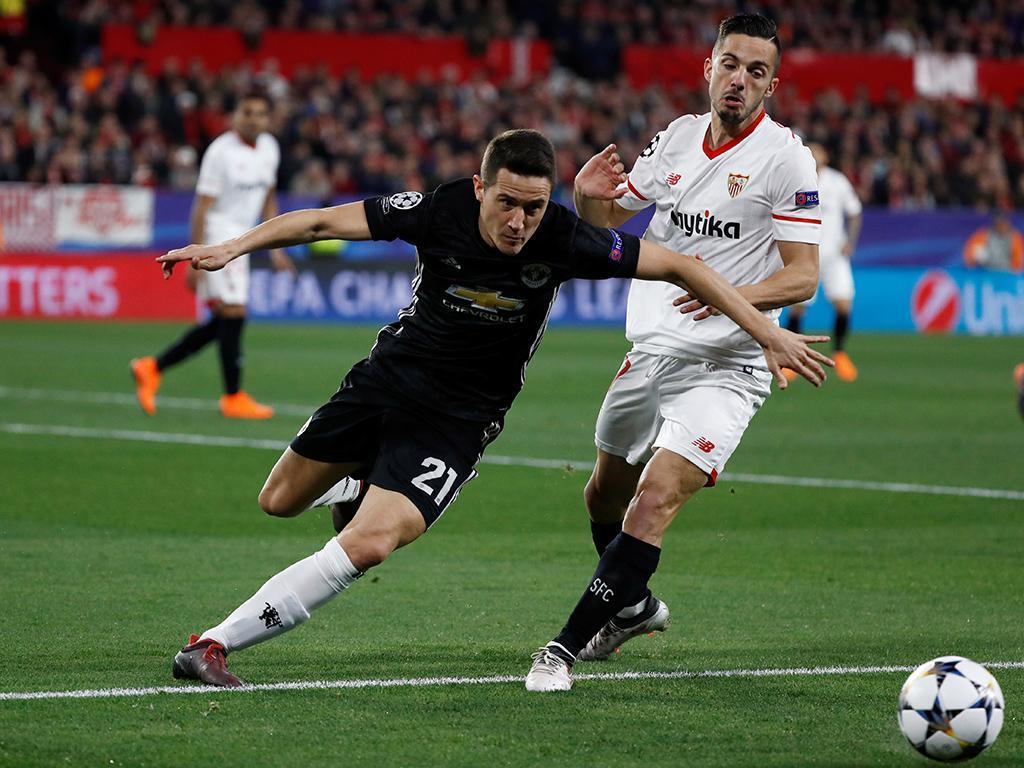 Sevilha-Manchester United (Reuters)