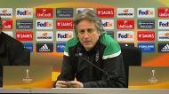 Jesus comenta acordo com o Benfica