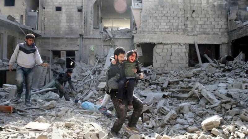 Massacre em Ghouta