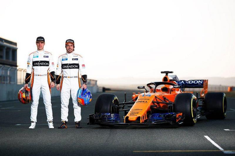 Stoffel Vandoorne e Fernando Alonso
