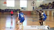 Nacional de andebol: os melhores golos da jornada 23