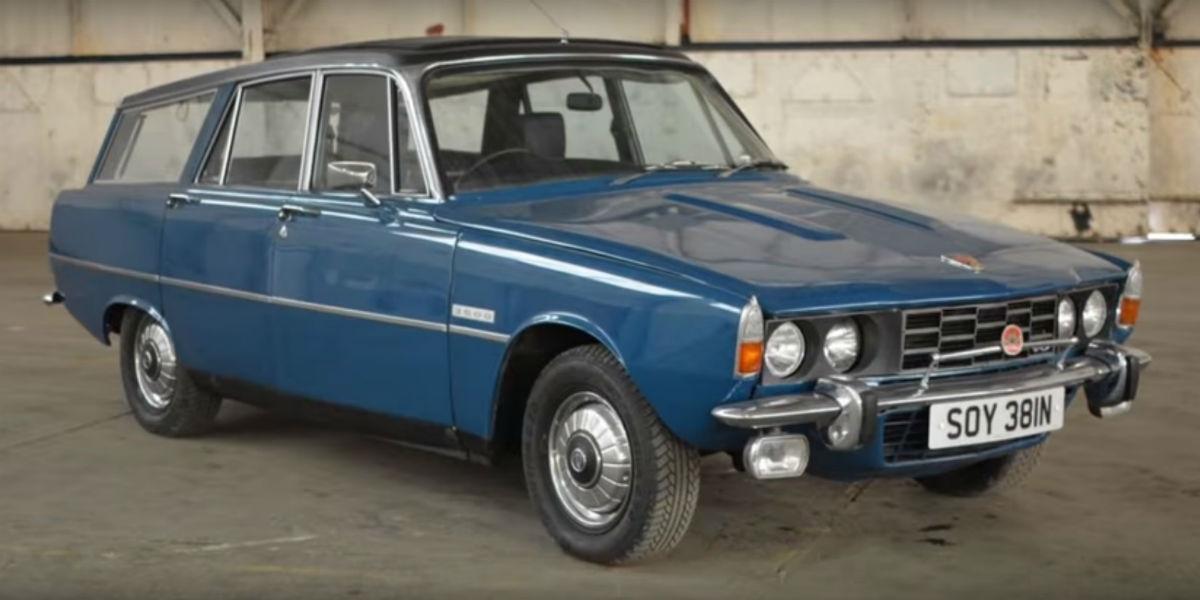 Rover P6 3500 (reprodução YouTube Brightwells)