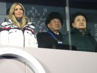 Jogos Olímpicos Inverno: Ivanka Trump e a delegação da Coreia do Norte
