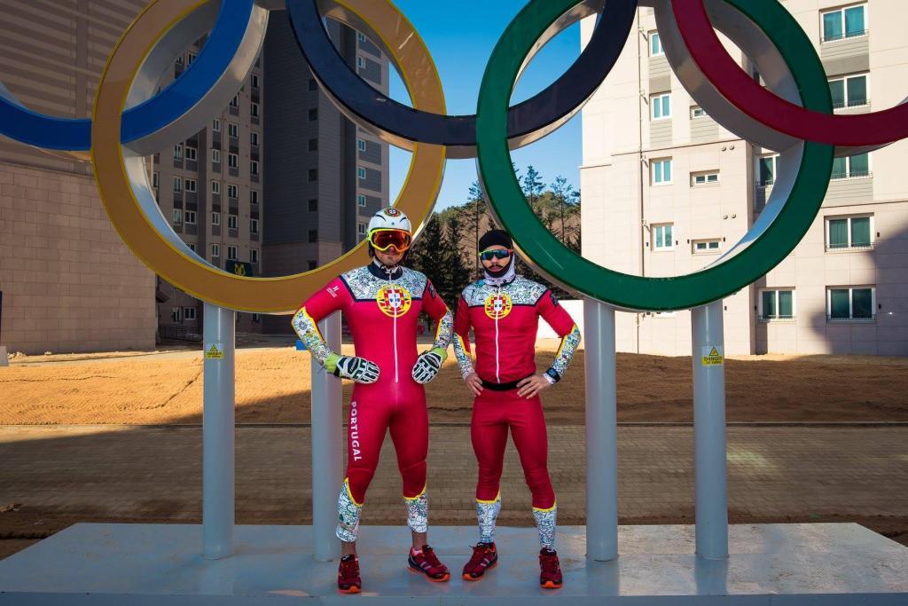 Jogos Olímpicos Inverno: a delegação portuguesa (Foto COP)