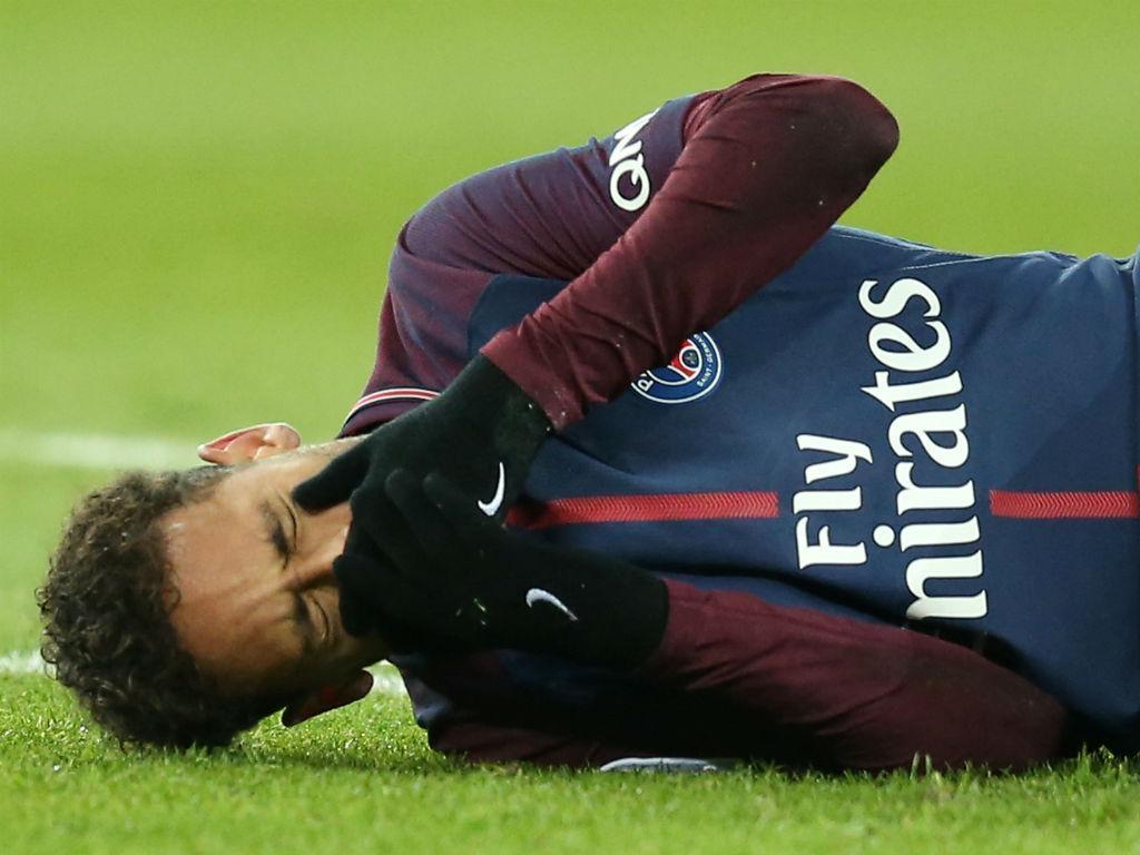 Neymar lesionado no PSG-Marselha (Reuters)