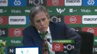 «Agora o Gelson vai ver o jogo com o Ruben Semedo»