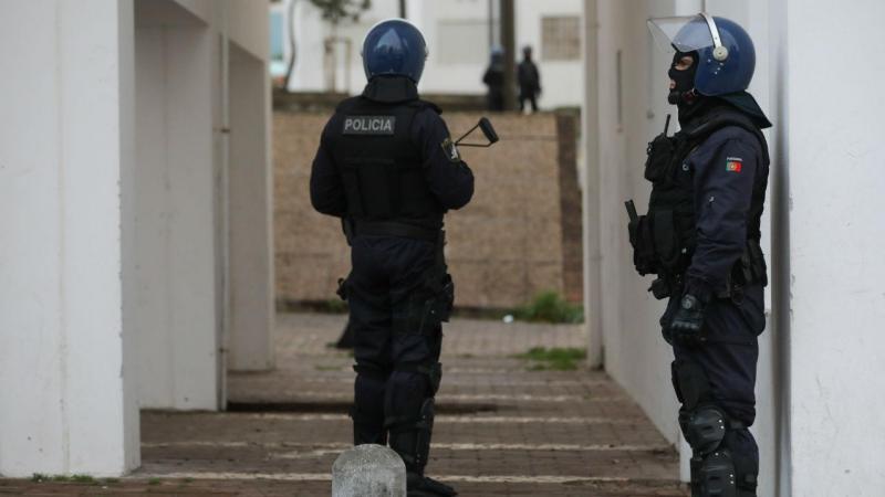 Operação policial no Bairro da Boavista, em Lisboa