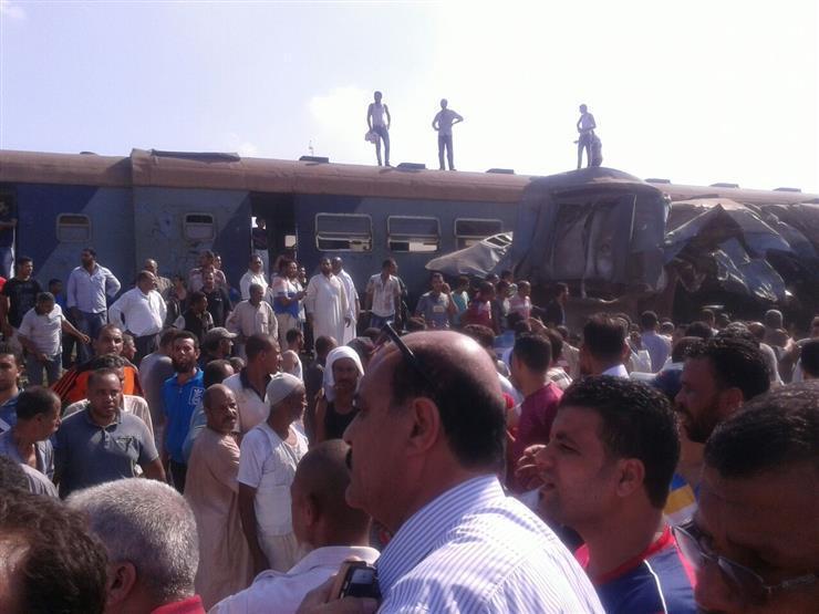 Choque de comboios no Egipto