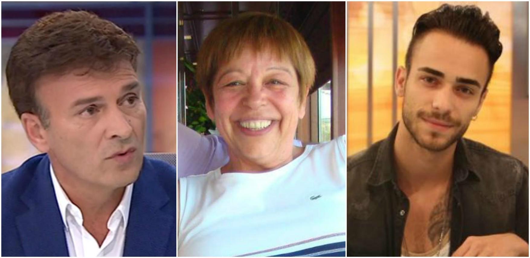 Tony Carreira, Maria Vieira e Diogo Piçarra