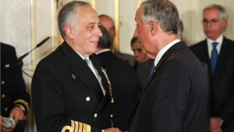 António Silva Ribeiro e Marcelo Rebelo de Sousa