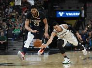 San Antonio Spurs-New Orleans Pelicans (Reuters)