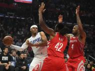 Los Angeles Clippers-Houston Rockets (Reuters)