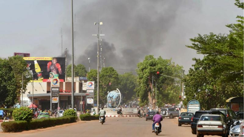 Burkina Faso - ataque na zona diplomática da capital