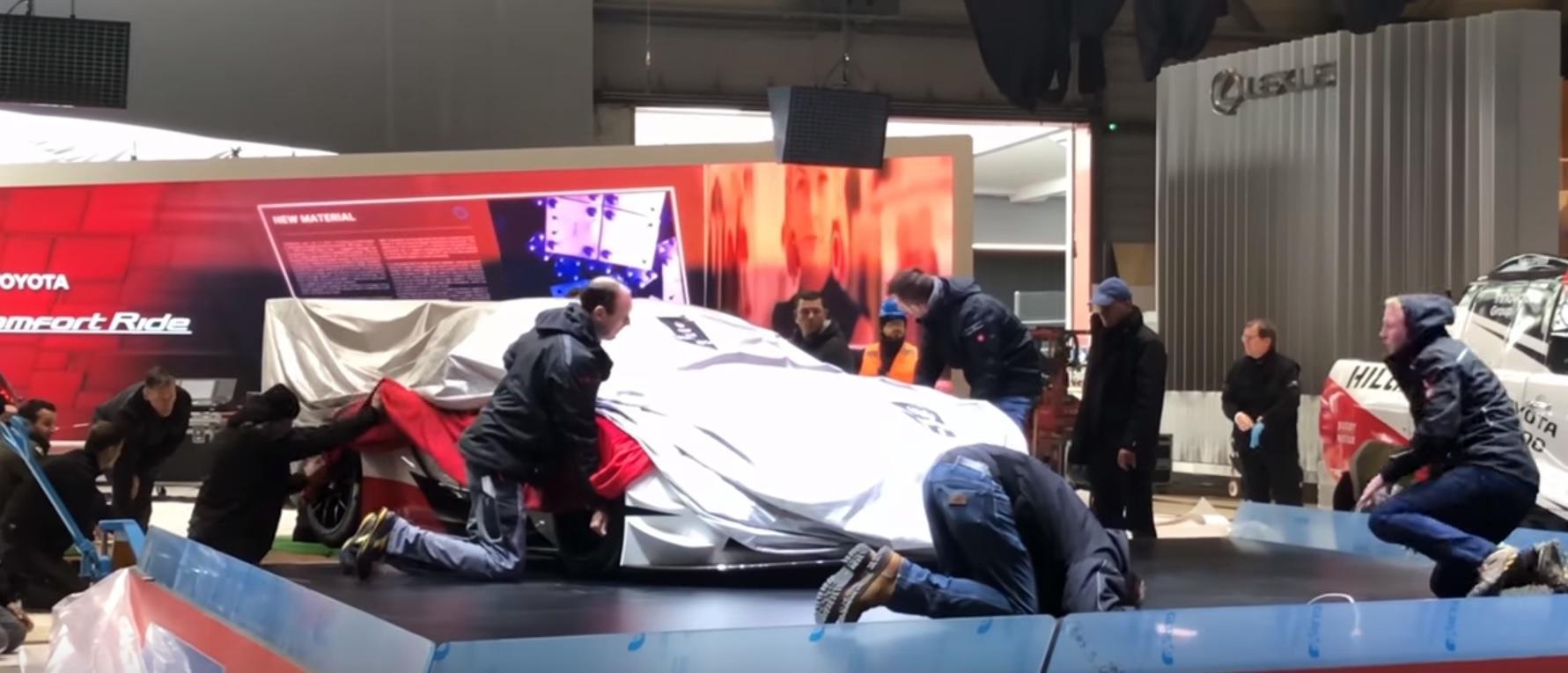 Toyota Supra no Salão de Genebra