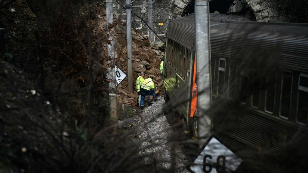 Descarrilamento de comboio na Beira Alta
