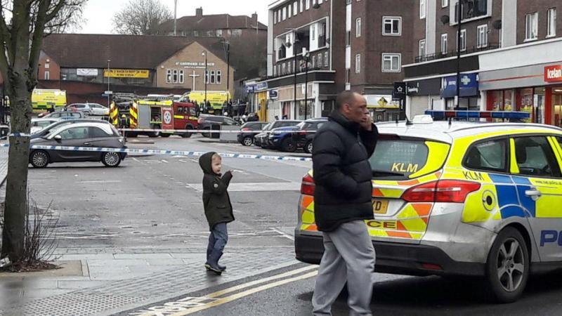 Explosão em prédio do Reino Unido