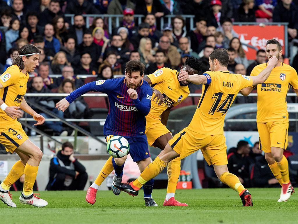 Barcelona-Atlético Madrid (Lusa)