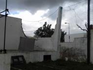 Minitornado semeou destruição no Estádio Doutor António João Eusébio